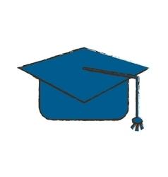 Graduation cap icon image vector