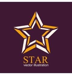 Star logo star icon abstract vector
