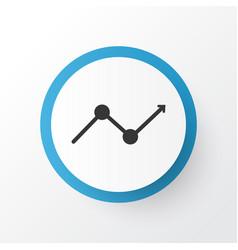 Arrow icon symbol premium quality isolated vector