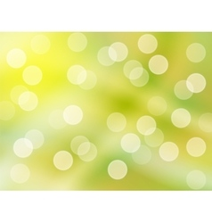 Bright green yellow background abstract vector image vector image