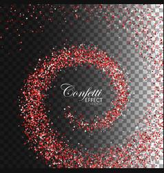 decoration confetti element for design vector image vector image