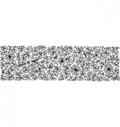 floral texture CCCVII vector image vector image