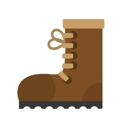 Industrial boot safety worker industrial vector