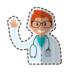 Medical doctor icon image vector