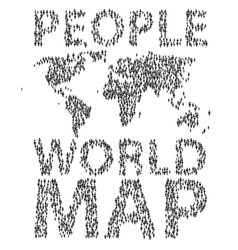 People map vector