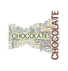 The battle of chocolates needs chocolate lovers vector