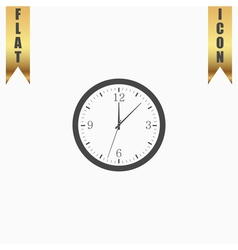 Time and Clock icon vector image vector image