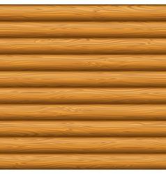 Wooden wall texture vector image vector image