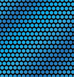 blue dot vector image