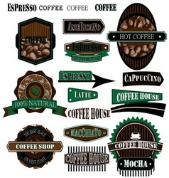 coffee company 02 vector image