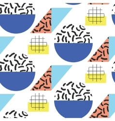 Memphis retro 80s seamless pattern vector