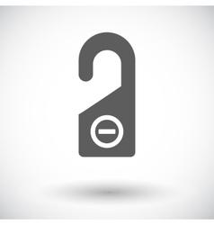 Door tag vector image
