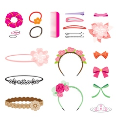 Hair Accessory vector image vector image