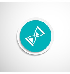 Hourglass icon time watch wait clock vector