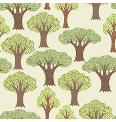 Seamless abstract textile pattern with various vector image