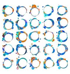 Speech bubbles EPS 8 vector image