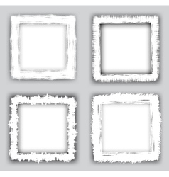 grungy frames vector image