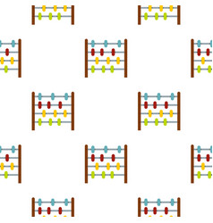 Children abacus pattern seamless vector