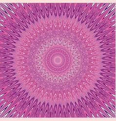 Geometric mandala explosion ornament background vector