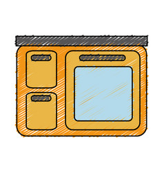 Kitchen icon image vector