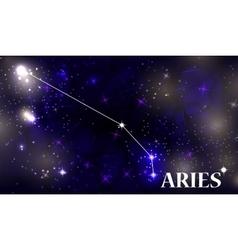 Symbol aries zodiac sign vector