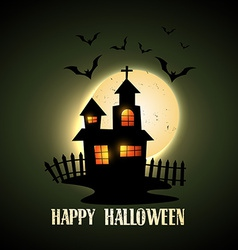 Creepy halloween vector