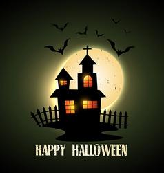 creepy halloween vector image
