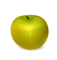 Green apple vector image vector image