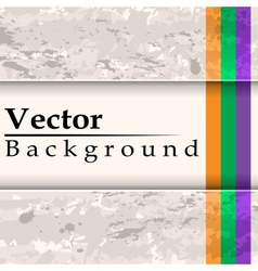 Grunge background with place for text vector image vector image