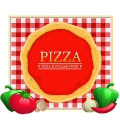 Pizza Menu Restaurant vector image