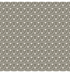 seamless pattern from decorative rings vector image