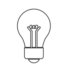 Light bulb energy design vector