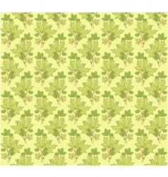 ornament green vector image