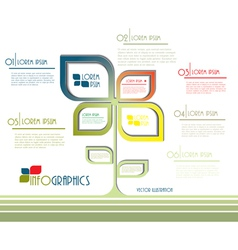 Modern ecology infographics vector image