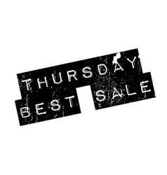 Thursday best sale rubber stamp vector
