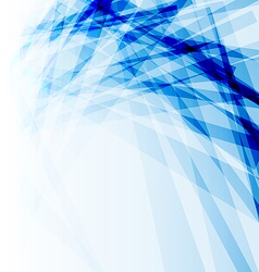 Blue business brochure abstract background vector image
