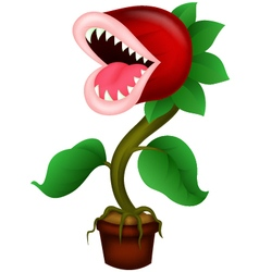 Carnivorous plant vector