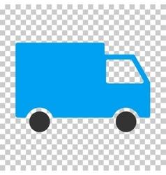 Cargo van eps icon vector