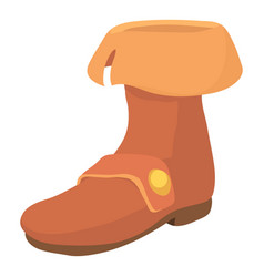 Footwear icon cartoon style vector