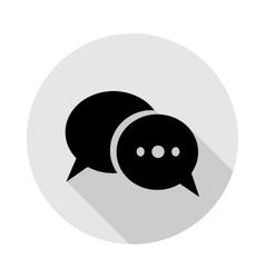 icon dialogue vector image vector image