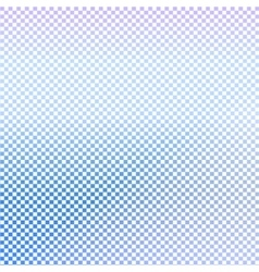 Small checkered blue background vector