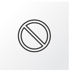 Access denied icon symbol premium quality vector