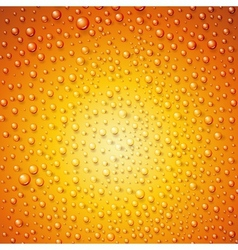 Water drops on surface as background vector