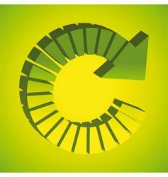 recycle arrows vector image