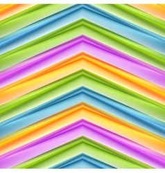 Abstract colorful stripes background vector image