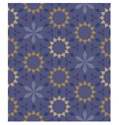 moroccan seamless pattern tile background vector image