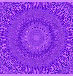 Purple mandala explosion fractal background - vector