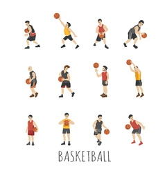 Young basketball player  eps10 format vector