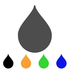drop flat icon vector image