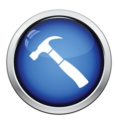 Icon of hammer vector image